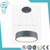 Luminária de suspensão LED de alumínio moderna, lâmpada de teto para o hotel ou o restaurante do clube