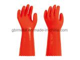 Перчатки домочадца PVC 959-40 перчаток работы перчаток Interal бархата термально
