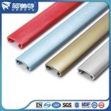 Carril de mano de aluminio modificado para requisitos particulares de la escalera de la capa del polvo del estándar de ISO del En/