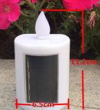 La luz de velas decorativas de la luz de vela solar