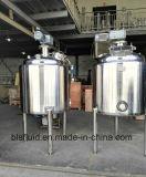 Jacketed暖房のステンレス鋼の液体のミキサーの容器