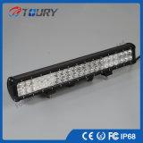 트럭 자동차 운전 점화를 위한 두 배 줄 126W LED 표시등 막대