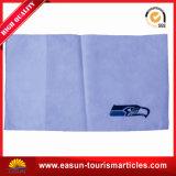 Aerolínea almohada cubierta con la impresión hermosa $ el logotipo del cliente.