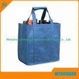 Promoción personalizada barata Tote laminados de tejido no tejido Bolsa reciclable.