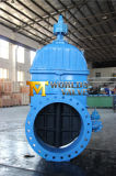 Дуктильная запорная заслонка шлюза утюга Ggg50 для воды (H77X-10/16)