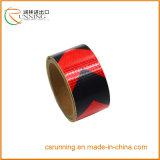Красный цвет черноты стикера ленты картины стрелок безопасности тележки трейлера автомобиля отражательный