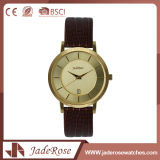 Heiße verkaufenmode-Quarz-Leder-Uhr