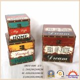 Contenitore di regalo di legno del contenitore di monili del circuito di collegamento di memoria della stampa multicolore dell'unità di elaborazione per la decorazione