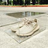 Изготовленный на заказ ясные акриловые коробки ботинка