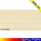 Entwurfs-Porzellan-Wand-Fliese der Badezimmer-Dekoration-600X1200 hölzerne (WT-M12021)
