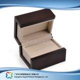 贅沢な木のボール紙の腕時計の宝石類のギフトの表示包装ボックス(xc-hbj-037)