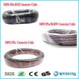5pin Draad 22 AWG van de Kabel van de Uitbreiding RGBW voor RGB LEIDENE van de Kleur Strook SMD 5050 3528