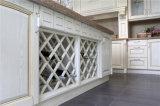 Gabinetes de cozinha da madeira contínua da alta qualidade