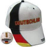 ブラシをかけられた綿のあや織りサンドイッチ帽子の刺繍のスポーツの野球帽