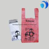 Подгонянные мешки тельняшки или пеленки плоского цвета HDPE пластичные
