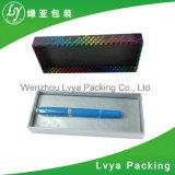 Rectángulo de cartón pluma de lujo personalizado Embalaje de papel Caja de cartón ondulado