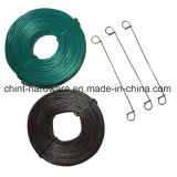 Enduit de PVC sur le fil de la bobine de fil de fer galvanisé