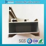 Perfil de aluminio de la África del Norte para el material de construcción del producto de la puerta de la ventana