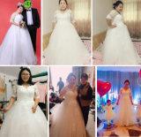 2017 Nuevo Gran Bola de tamaño personalizado Plus vestido vestido de novia