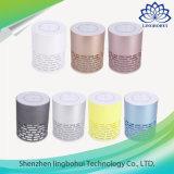 Bunter drahtloser lauter Plastiklautsprecher mit LED-Licht