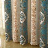 Heat-Insulatingシュニールの水溶性の刺繍の停電の窓カーテン(26W0026)