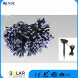 Kunststoff mit Multicrystal Silison Zeichenkette-Beleuchtung des Sonnenkollektor-LED