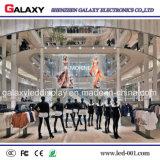 Alto schermo di visualizzazione trasparente esterno del LED P5-8 per la pubblicità del tabellone per le affissioni