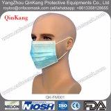 Устранимый лицевой щиток гермошлема Nonwoven 3-Ply хирургический медицинский с Earloop