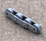 플랜트 앞치마 지류를 위한 강철 컨베이어 사슬을 취급하는 큰 롤러 유형 석탄