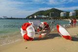 La famiglia della sosta dell'acqua mette in mostra il triciclo dell'acqua di Trike dell'acqua delle 3 rotelle da vendere