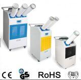 Condicionador de ar portátil com dois condutos para fabricação industrial / oficina / uso de armazém