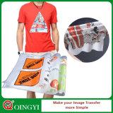 Qingyi più dell'autoadesivo lavabile di scambio di calore 66times per la maglietta