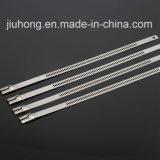 Ataduras de cables de autoretención descubiertas del acero inoxidable Ss304/316