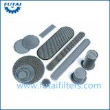 Placa de filtro de aço inoxidável para fibra sintética