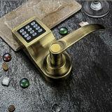 Tarjeta del cilindro de la oficina electrónica/de la casa y bloqueo de puerta del código con el regulador alejado