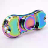 Filatore di alluminio della mano del filatore di irrequietezza dei lati del Rainbow due della novità