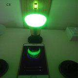 7W WiFi RGBW inteligente lâmpada LED com estrutura em alumínio
