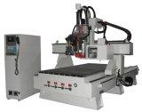 Graveur en aluminium économique de commande numérique par ordinateur de commutateur d'outil automatique