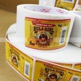 Étiquettes pour des collants de produits de beauté de cigare de sucre