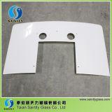 vidro Tempered extremamente branco curvado 4mm da segurança
