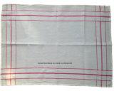 Полотенце чая кухни логоса продукции фабрики изготовленный на заказ сплетенное Crossweave