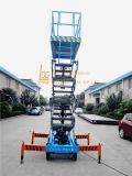 la plataforma del móvil de los 3m-18m Scissor la elevación (SJY0.5-7.5)