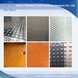 Mesh métallisé perforé en acier inoxydable