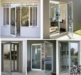 Окно Casement алюминия высокого качества оптовое/U-PVC