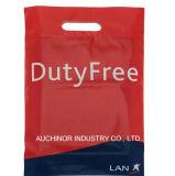 La vendita al dettaglio stampata su ordinazione ha tagliato i sacchetti a stampo tagliente di plastica delle mercanzie della maniglia