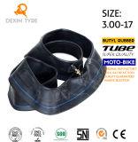 Tube de butyle d'origine moto tube intérieur pour scooter moto 3.00-18 tube