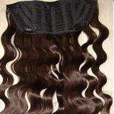 Зажим на новом продукте 2017 человеческих волос Remy продукта волос закрытия