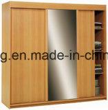 引き戸の寝室の戸棚のGarderobeの新しい現代ワードローブ