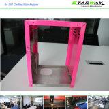 De aangepaste Staal Gekleurde Delen Van uitstekende kwaliteit van de Vervaardiging van het Metaal van het Blad van de Precisie