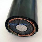 Na2xs (F) 2Y Single Core câble avec isolation XLPE PE 18/30kv longitudinalement gaine étanche